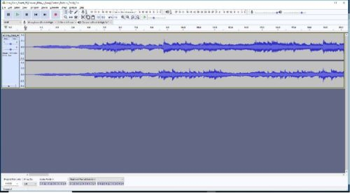 How to record a church service with Audacity