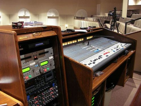 9 Church Sound Booth Layout Ideas