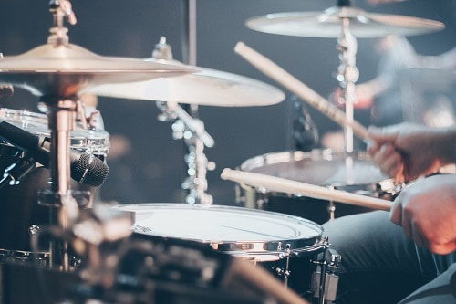 photo of drum kit