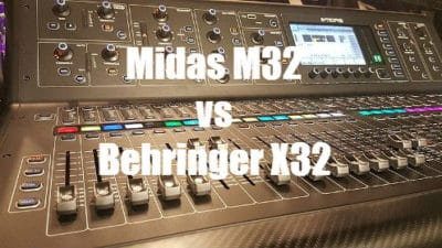 Midas M32 vs Behringer X32 Consoles - Comparison and Review