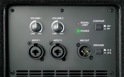 picture of active speaker controls