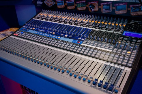 picture of a mixer
